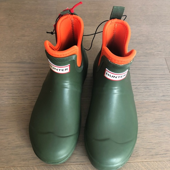 865c587900c Hunter for Target Olive Green Ankle Rain Boots NWT